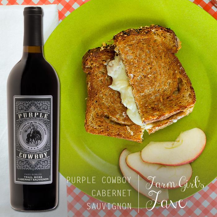 Grilled Cheese & Purple Cowboy Wine Pairings | Purple Cowboy Wines ...